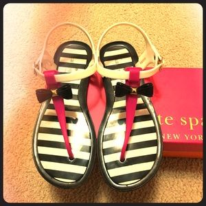 💫🌟🌸Kate spade jelly sandals